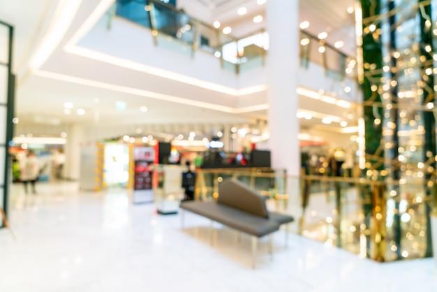 Абстрактный размытие торговый центр