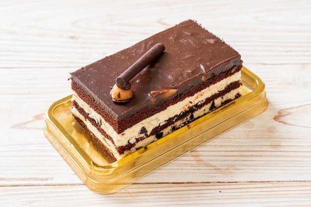 アーモンドとおいしいチョコレートケーキ