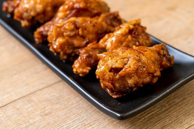 鶏肉の韓国風炒め