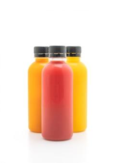 果物や野菜ジュースボトル(健康飲料)