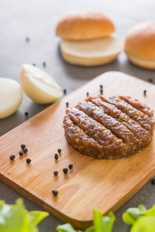 Ингредиенты для гамбургеров