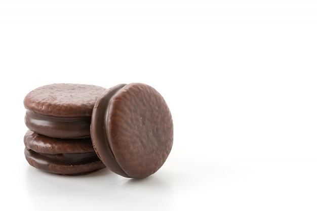 Шоколадный мягкий пирог с зефиром