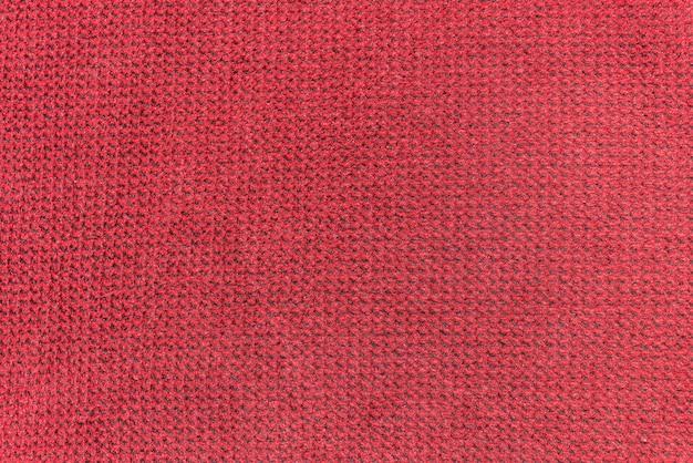 赤いテクスチャファブリック