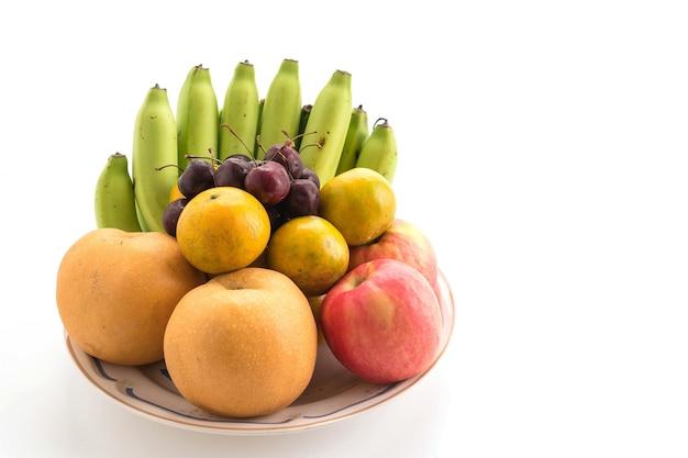 フルーツを混ぜる