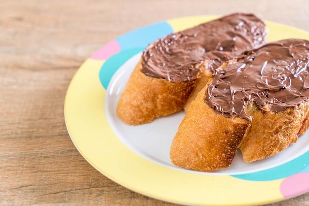 チョコレートヘーゼルナッツパン