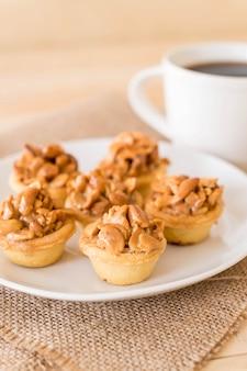 タフィーカップケーキ(コーヒー入り)