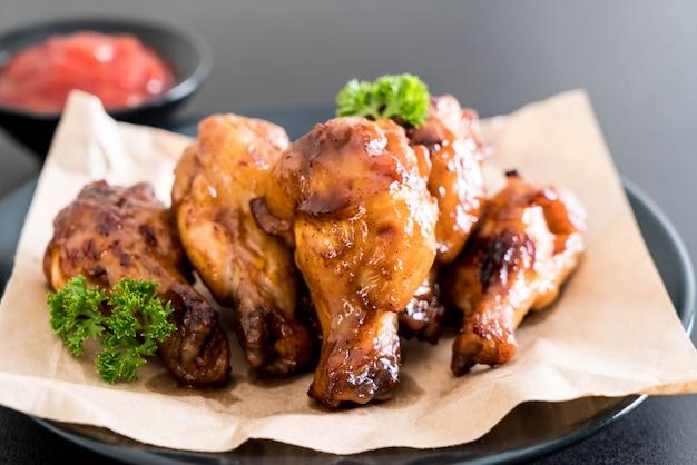 Куриные крылышки для барбекю