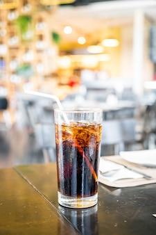 コーラのガラス