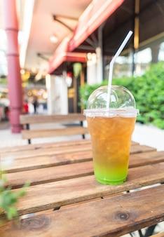 Ледяной чай киви