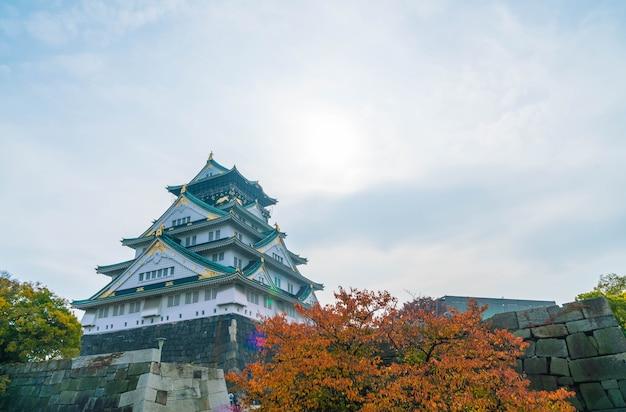 大阪城の美しい建築