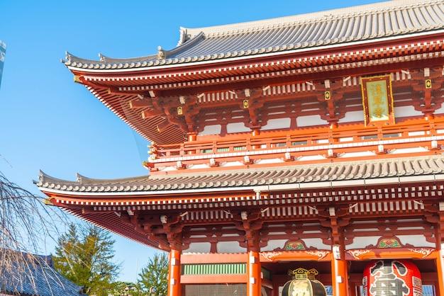 浅草寺の美しい建築