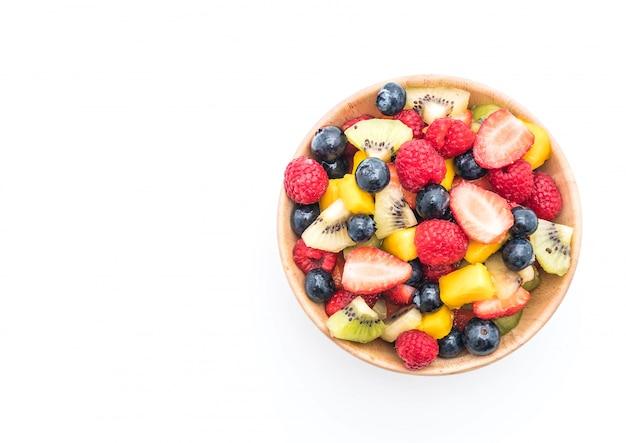 混ぜた新鮮な果物