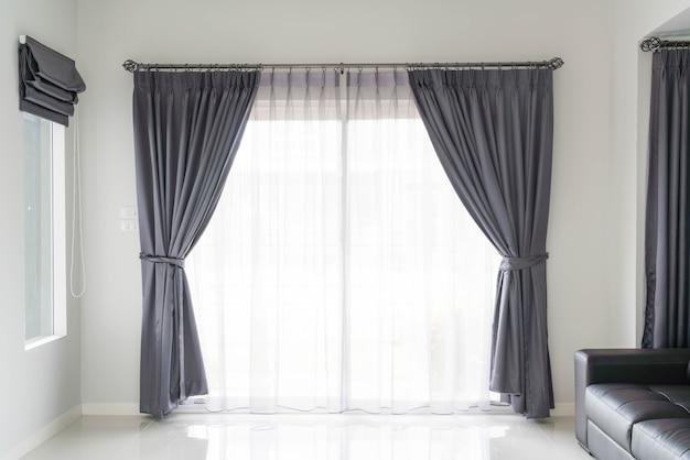 日差しのあるカーテン