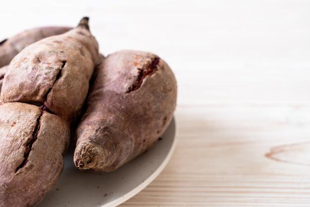Фиолетовый сладкий картофель