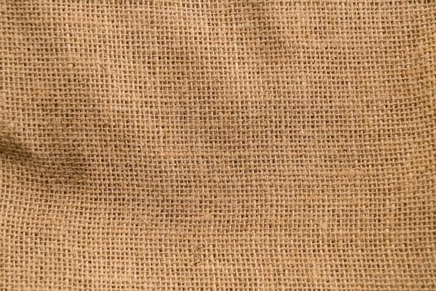 Текстурный фон на мешковине
