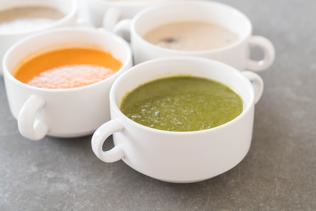 ホウレンソウのスープ