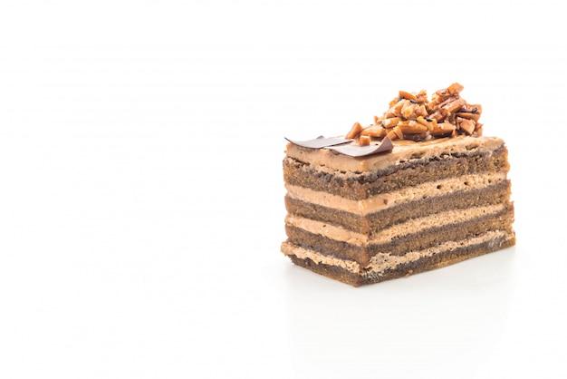 Кофейный торт с ириской