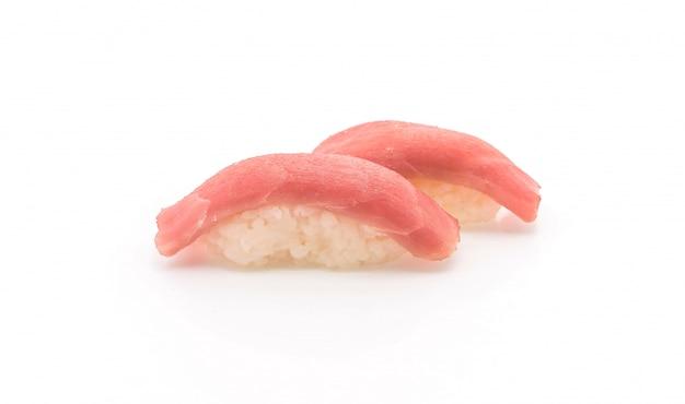 Тунец нигири суши - стиль японской кухни