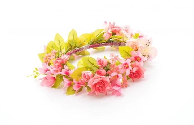 Красивая цветочная корона