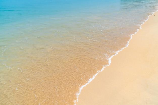 美しい熱帯のビーチと海の楽園の島