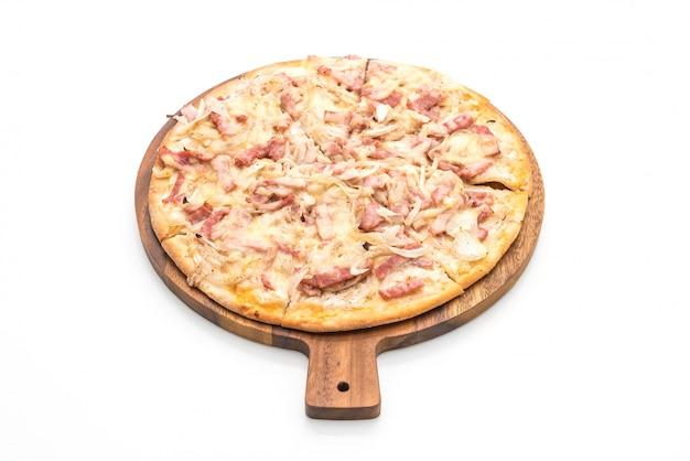 Тарт фламбе пицца