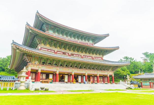 韓国、済州島の薬川寺