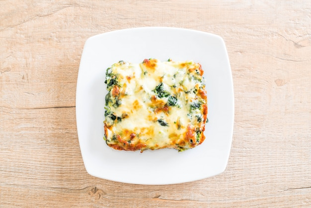 ほうれん草のチーズ焼き