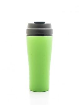 プラスチックとタンブラーカップ