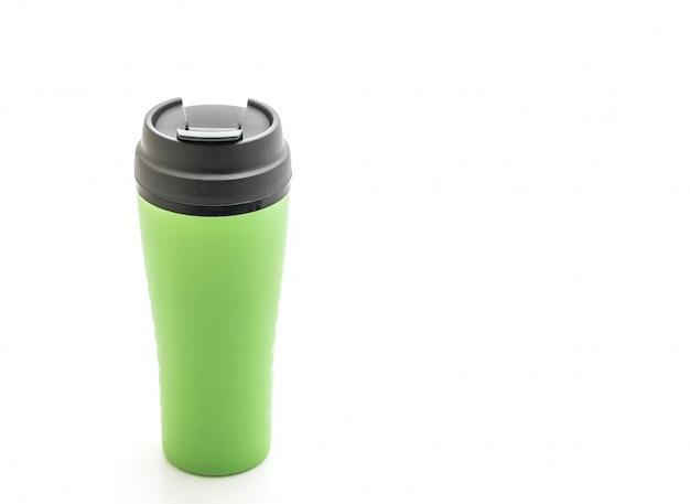 Пластиковая чашка и стакан