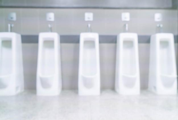Абстрактный размытый мужской туалет