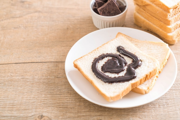 チョコレートとパン