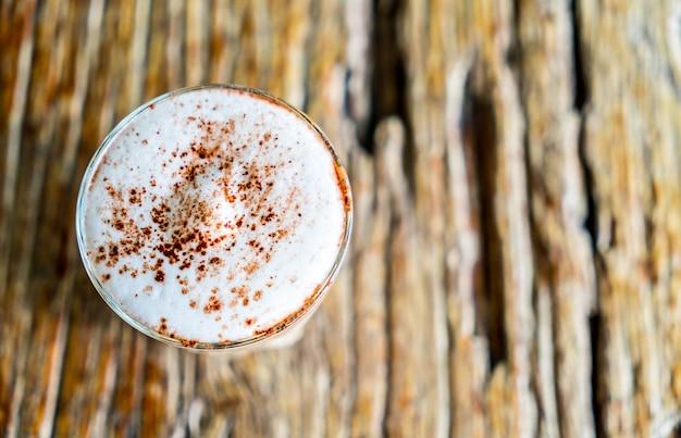 ホットカプチーノコーヒー