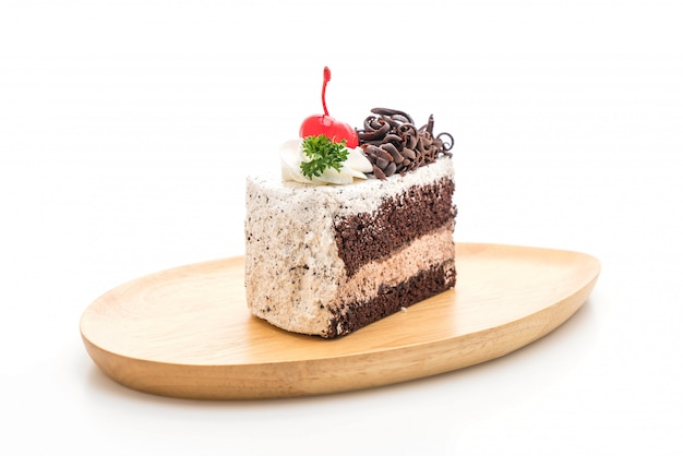黒い森のケーキの分離