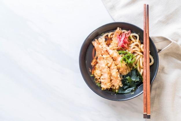 えび天ぷらうどんラーメン