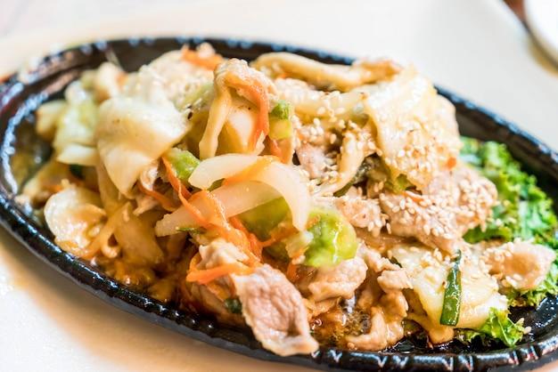 豚肉の野菜炒め(ブルゴギ)
