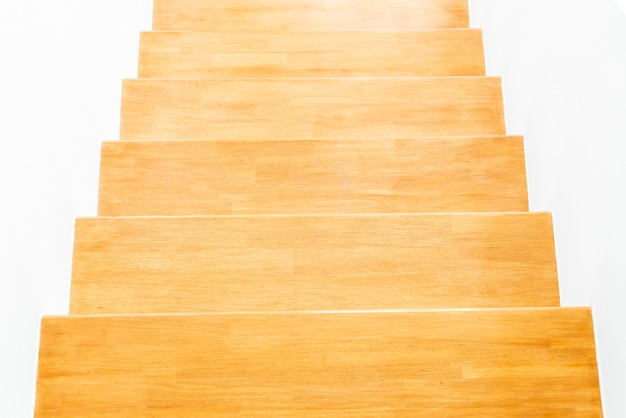 階段ステップの空の建築
