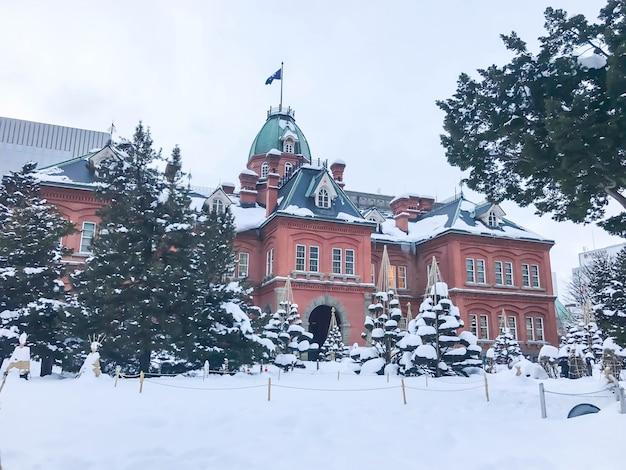 旧札幌北海道庁。