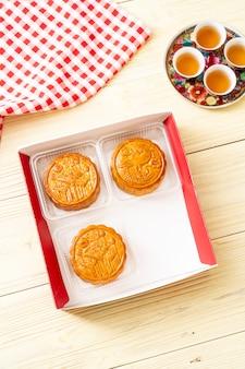 Китайский лунный пирог для китайского праздника середины осени