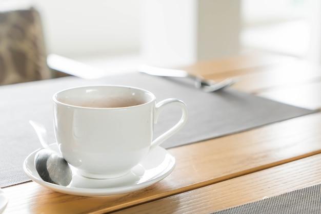 Чашка кофе на завтрак