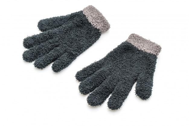 分離された手袋