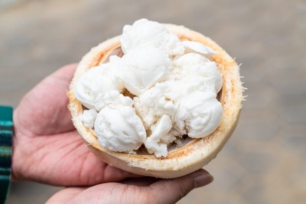 Кокосовое мороженое