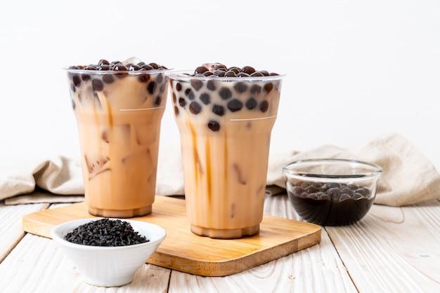 泡と台湾のミルクティー