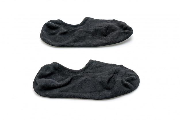 白の短い靴下