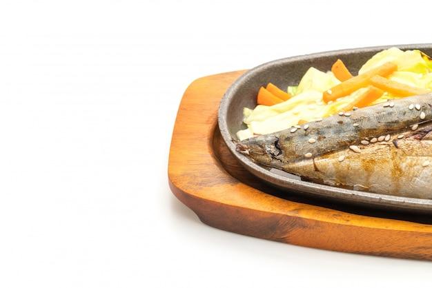サバフィッシュステーキの照り焼きソース