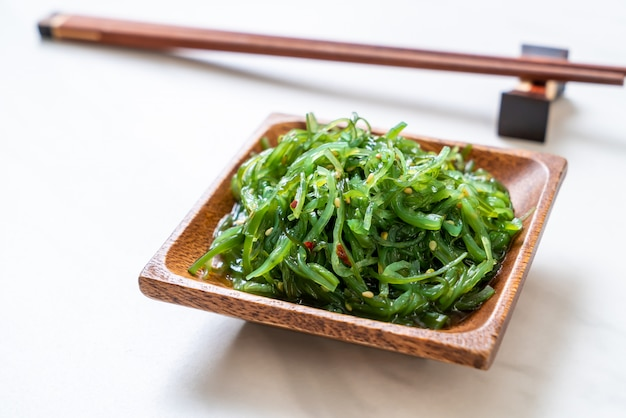 海藻サラダ-和風
