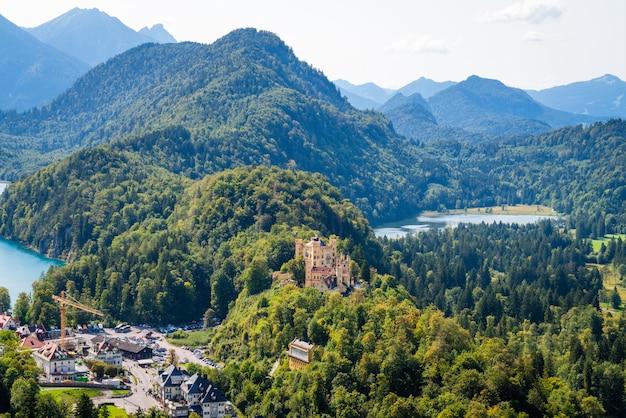 Хоэншвангау и альпзее, бавария, германия