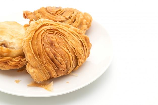 Слоеное тесто с карри