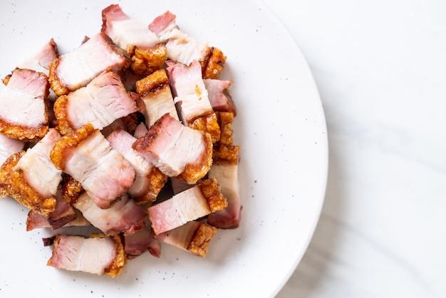 サクサクした豚バラ肉