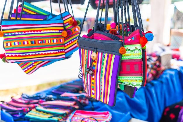 タイ北部の伝統的なバッグ