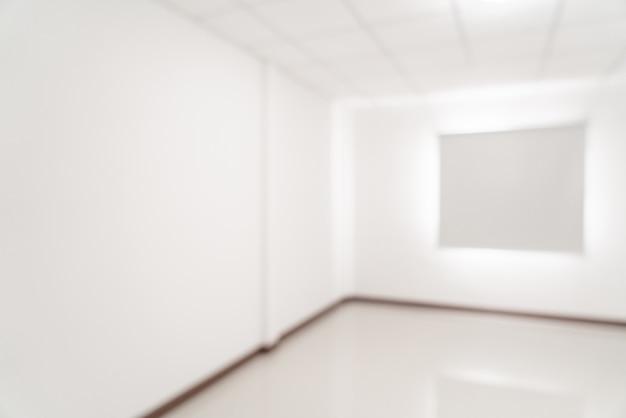窓とカーテンと抽象的なぼかし空の部屋